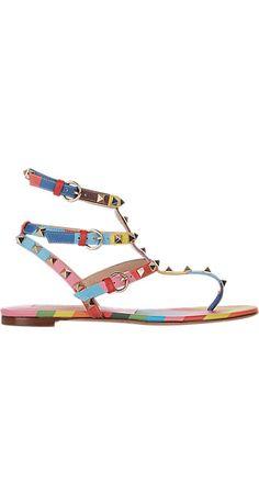 86c4505c7f Valentino Rockstud Flat Sandals - Flats - Barneys.com Valentino Spa,  Valentino Resort,