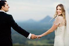 Australia Wedding from Studio Impressions Photography Bridal Poses, Wedding Poses, Wedding Couples, Wedding Ideas, Veil Hairstyles, Real Weddings, Marie, Style Me, Wedding Photography