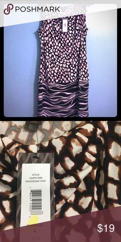 Victor Alfaro ✨ Victor Alfaro Size Large Animal Leopard Print Dress Dresses Midi