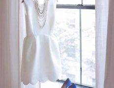 35 Stylish Bridal Shower Outfits For Brides