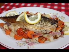 Macrou cu legume la cuptor - YouTube French Toast, Meat, Chicken, Cooking, Breakfast, Recipes, Foods, Travel, Kitchens