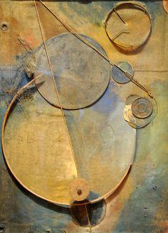 Kurt Schwitters - sculpture at Museum of Modern Art, New York Kurt Schwitters, Dada Collage, Mixed Media Collage, Collage Artists, Dada Artists, Francis Picabia, Action Painting, Assemblage Art, Museum Of Modern Art