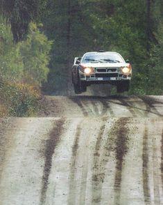 Lancia 037 - Markku Alen / Ilkka Kivimaki, Finland Rally (1000 Lakes) 1983