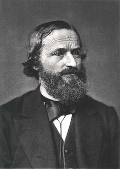 Gustav Robert Kirchhoff (1824 - 1887). Físico prusiano responsable de dos conjuntos de leyes fundamentales: Leyes de Kirchhoff