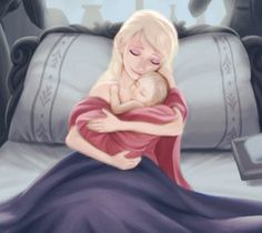 The Birth of Jessica Frost #Edited by me #From real previous picture 'The Birth of Elsa'