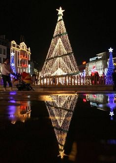 Christmas decorations and lights, Bulgaria