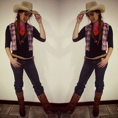 Cowgirl costume for Halloween  sc 1 st  Pinterest & 33 DIY Country Girl Costumes | Halloween | Pinterest | Costumes Diy ...