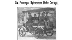 On January 3, 1899, The New York Times first used the word 'automobile' in print.