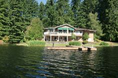 c. 1994 3 bedrooms/2.1 baths 3,660 sq ft. $2,990,000 Wow! 80 acres of privacy and your own private 15 acre lake with trout. Three tax parcels, extra water share w 7 Lakes water. Custom built dayl…