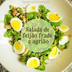 Salada de Frade e Agrião #receita #dieta #emagrecer #light #regime