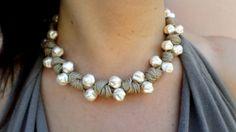 cuentas de collar de perlas regalo de joyería por DolceStilNovoLab