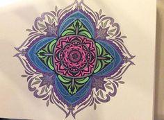 ColorIt Mandalas to Color Volume 1 Colorist: Lisa Chapman Goodanew #adultcoloring #coloringforadults #mandalas #mandala #coloringpages