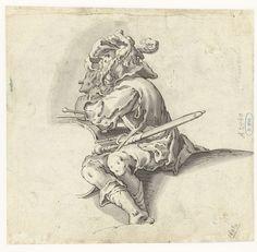 Tamboer, Joachim Wtewael, 1576