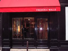 Editions de Parfums Frederic Malle  37 rue de Grenelle 75007 Frederic Malle, Paris Perfume, Home Fragrances, Lily Of The Valley, Rue, Bucket, Candles, Doors, Spaces