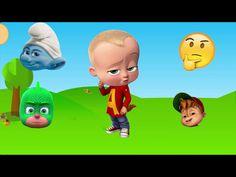 Just in: WRONG HEADS  | Surprise game with BOSS BABY GEKKO SMURFS ALVIN SUPER STAR - CHIPMUNKS  https://youtube.com/watch?v=7sVm00HZfLQ