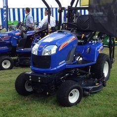 Iseki tractors at BALI Show 2012