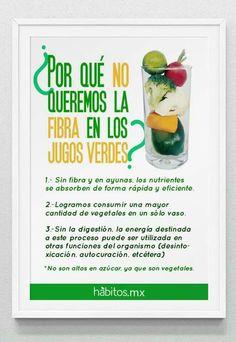 #salud #jugosverdes #buenoshabitos
