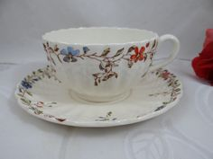 Vintage Copeland Spode English Bone China Teacup and Saucer