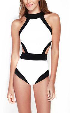 High Waist Bandage Swimsuit