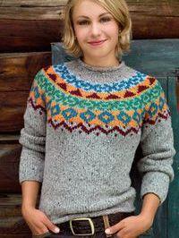 p/pulli-gefunden-bei-lana-grossa - The world's most private search engine Motif Fair Isle, Crochet Pullover Pattern, Norwegian Knitting, Icelandic Sweaters, Fair Isle Knitting, Top Pattern, Knitwear, Knitting Patterns, Crafts