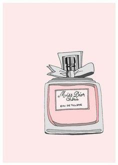 MISS DIOR PERFUME - PROJECT LIFE CARD IDEA