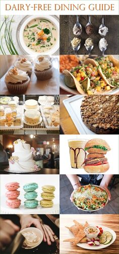 Recommended Restaurants for Dairy-Free Dining - Hundreds of Lisings in the US, Canada and Globally, many shared by fellow dairy-free or vegan diners.