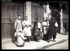 Chinese New Year, Foochow Road, Shanghai, 1902