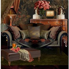 LOVE LOVE LOVE THE DRESSER LOVE THE WALL PAPER ON ONE ACCENT WALL SOO PRETTY!!!boho ralph lauren inspiration