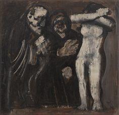 Mario Sironi. Susanna and the Elders. 1935