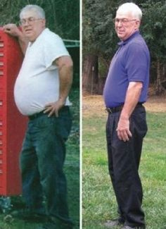 Hal lost 70 pounds!