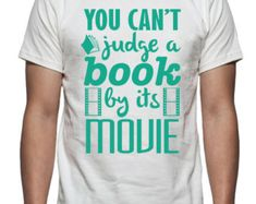 Can't Judge a Book Tee Shirt Design, SVG, DXF, EPS Vector files for use with Cricut or Silhouette Vinyl Cutting Machines