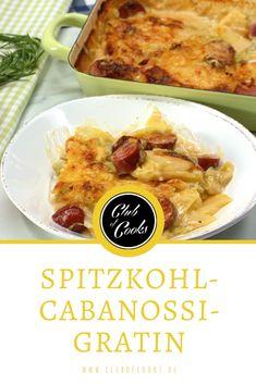 Dieses Spitzkohl Cabanossi Gratin ist raffiniert und für jeden Tag geeignet.