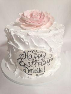 spackle flower cake