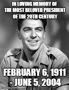 Today marks the 9 year anniversary that he was called home. RIP President Reagan...you are greatly missed. ❤