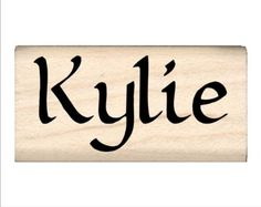 Kylie - Name Rubber Stamp, Stamps by...