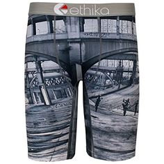 Ethika Mens Wheelie Gang The Staple Fit Boxer Briefs Underwear2XL Grey ** Visit the image link more details. Note:It is affiliate link to Amazon.