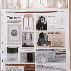 Spotted our Industrial Clothing Rail in the Sunday Times Home Weekly section.