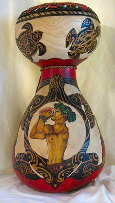 Reggie Eakin Award Winning Gourds