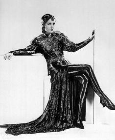 Greta Garbo as Mata Hari?