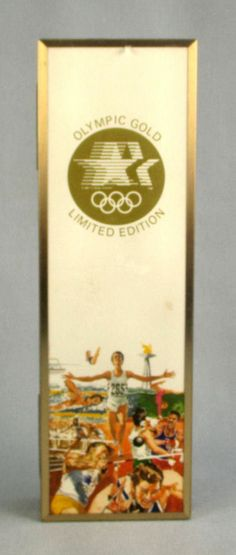 Vtg Olympics Gold Playing Cards 1984 Los Angeles XXIII New Sealed Congress LE