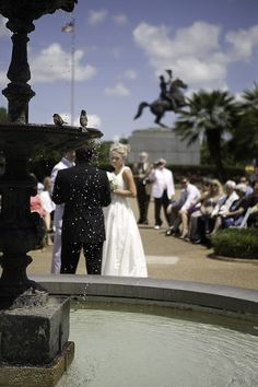 Another Jackson Square Wedding. Oh our wedding memories : )