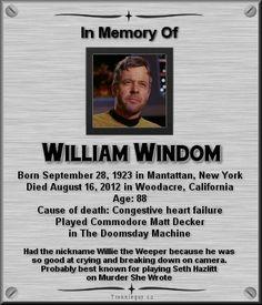 William Windom