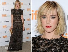 Jena Malone In Emilio Pucci - 'Time Out of Mind' Toronto Film Festival Premiere - Red Carpet Fashion Awards