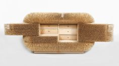 sebastian errazuriz rethinks cabinetry with wave and magistral chest - designboom | architecture