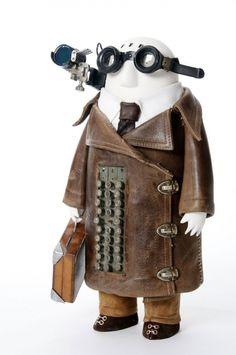 Les étranges personnages de Stephane Halleux stephane halleux sculpture personnage 02 divers bonus art