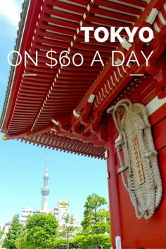 A guide to traveling Tokyo on a budget of as low as $60 a day. Resources and tools to help you find cheap accommodation, food, and transportation.