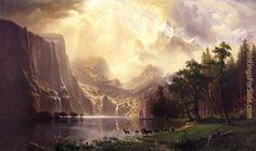 Albert Bierstadt Most Famous Painting | Shop your favorite Albert Bierstadt paintings and frames at discount ...