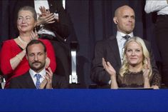 Crown Prince Haakon and Crown Princess Mette Marit attended the 2015 Nobel Peace Prize Concert - 11.12.15