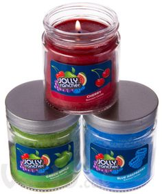 jolly rancher candle   Jolly Rancher Scented Candles: They smell just like the candy