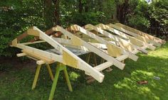 Building a shed- trusses